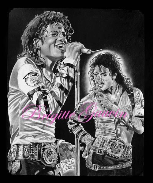 Michael Jackson by BrigitteGo